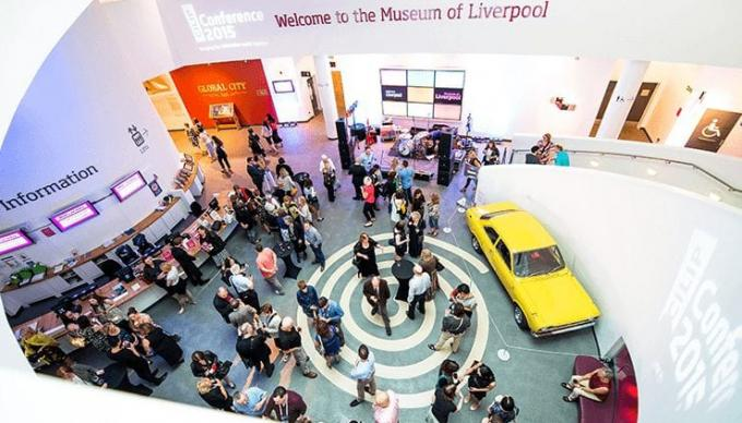 Atrium at Museum of Liverpool