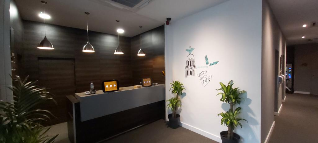 Heeton Concept Hotel Reception area