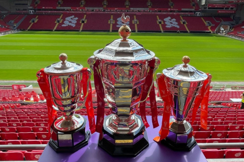 Three trophies at Anfield